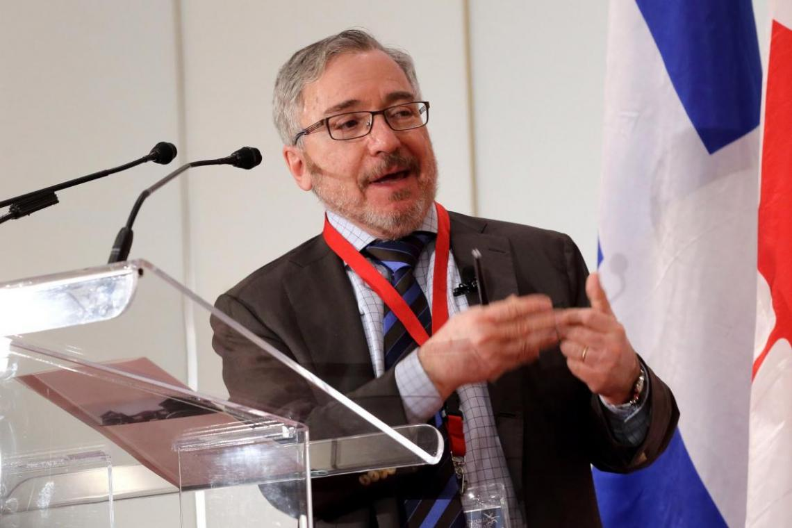 Dr. Philip Oxhorn, VIU Dean of International Education