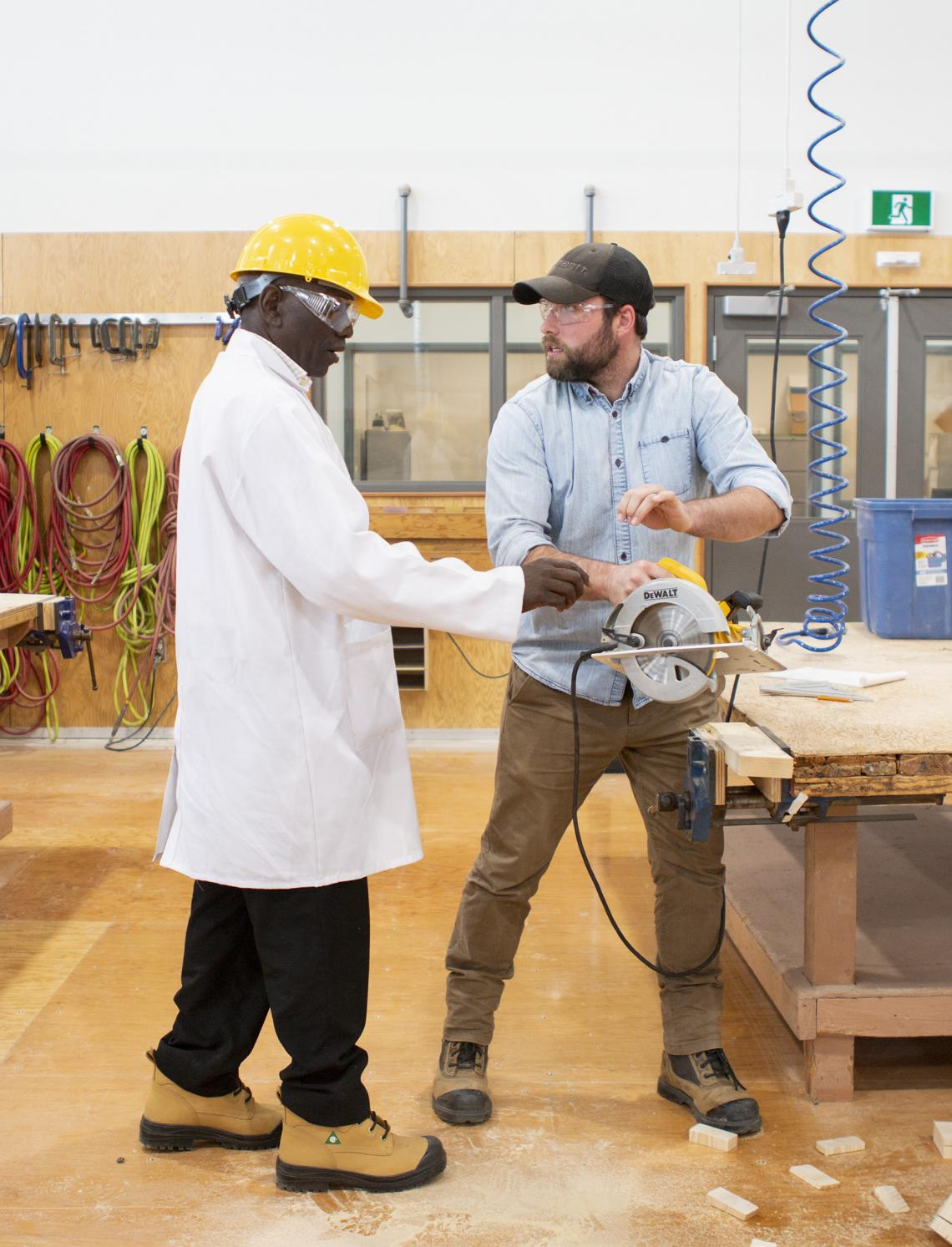 Kenyan Partnership Takes VIU Trades Training Global | News | VIU