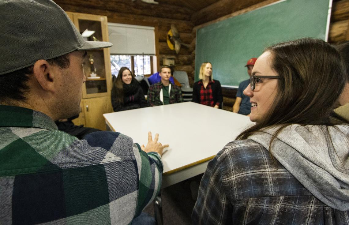 VIU Students engage in meaningful collaboration