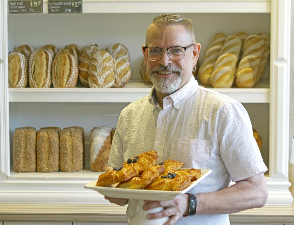 Paul, Hearthstone Bakery, VIU alumnus