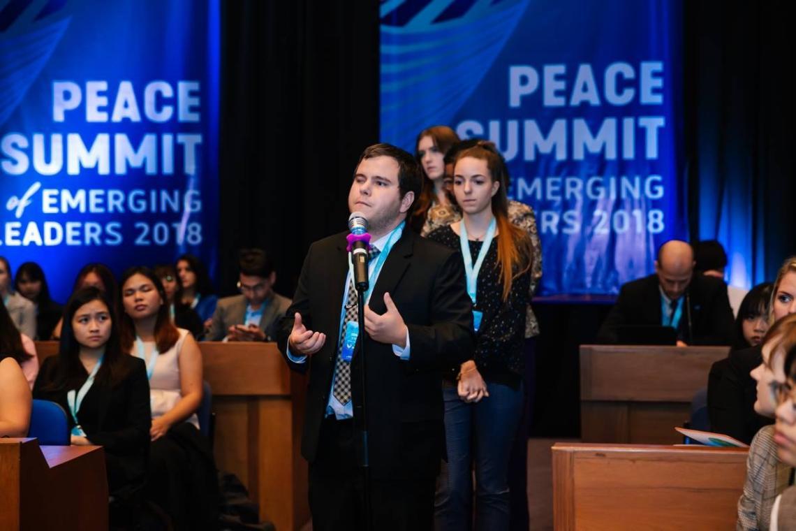 peace summit emerging leaders