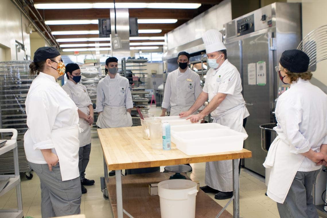 VIU Baking Program Rises to the Next Level