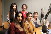 Nursing Students Go On The Air To Promote Good Health