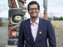 VIU MBA student Alvin Meledath will present his ideas on how to solve the national Indigenous doctor shortage to a panel of deputy ministers after becoming a finalist in the National Student Paper Competition.