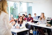 VIU business management students