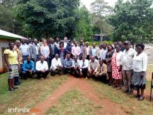 The VIU and Kenya teams involved in KEFEP