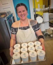 VIU Baking alumna Kara Shedden