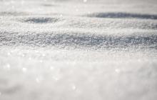 snow on the ground