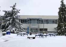snow day at VIU