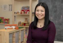 VIU ECEC Alum Summer Lin opens her own daycare and helps inspire future ECEC workers
