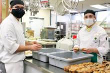VIU Culinary Arts program donates surplus food to Salvation Army
