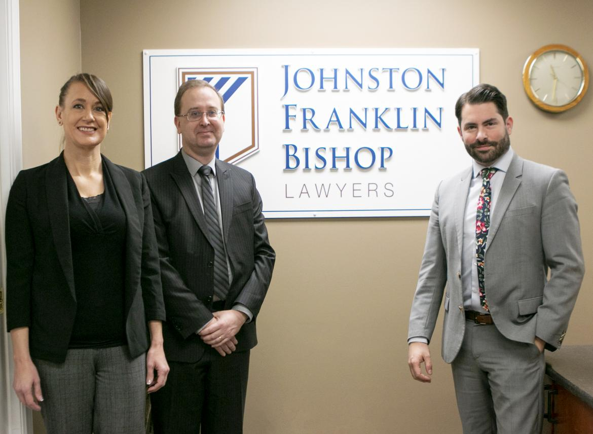 Johnston Franklin Bishop Law Firm is Primarily Made Up of VIU Graduates