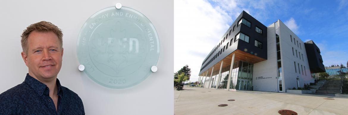Ralph Nilson Centre for Health and Science LEED Gold Certified