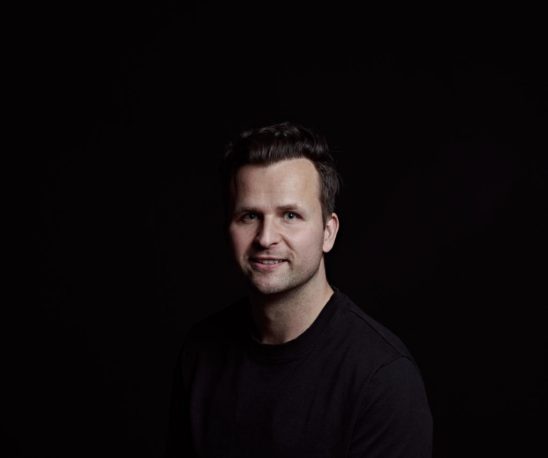 Profile portrait of Dom Dawson