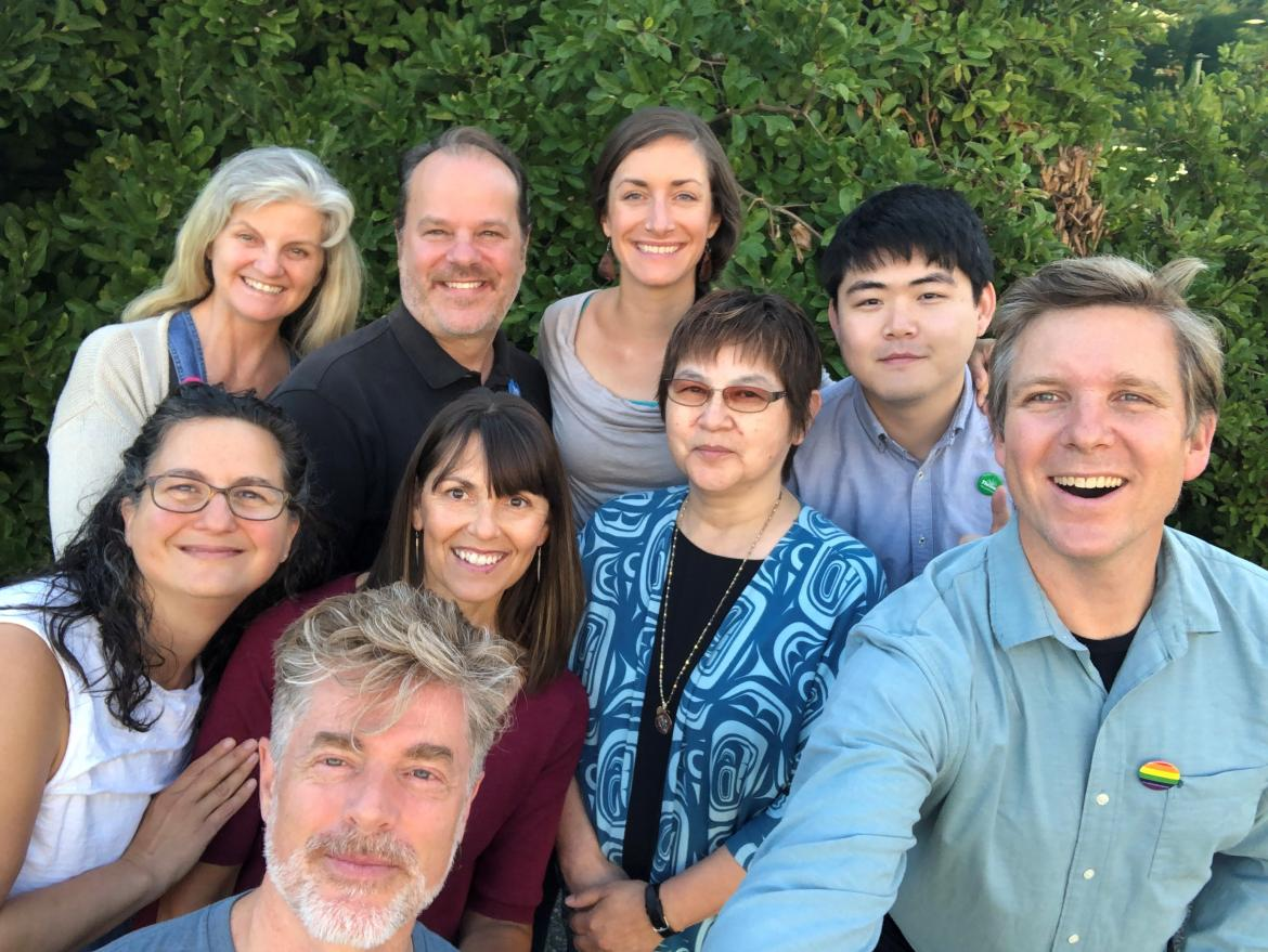Group shot of the VIU counselling team