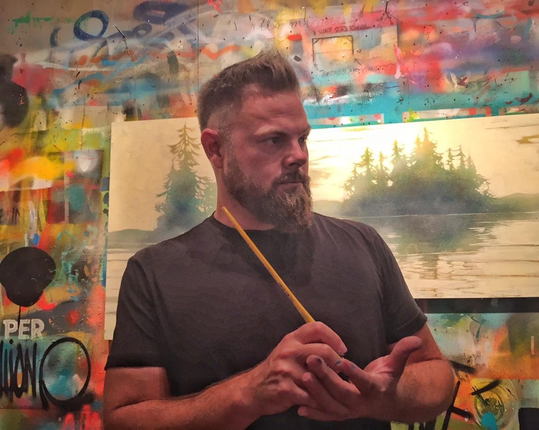 Portrait shot of Shawn O'Keefe