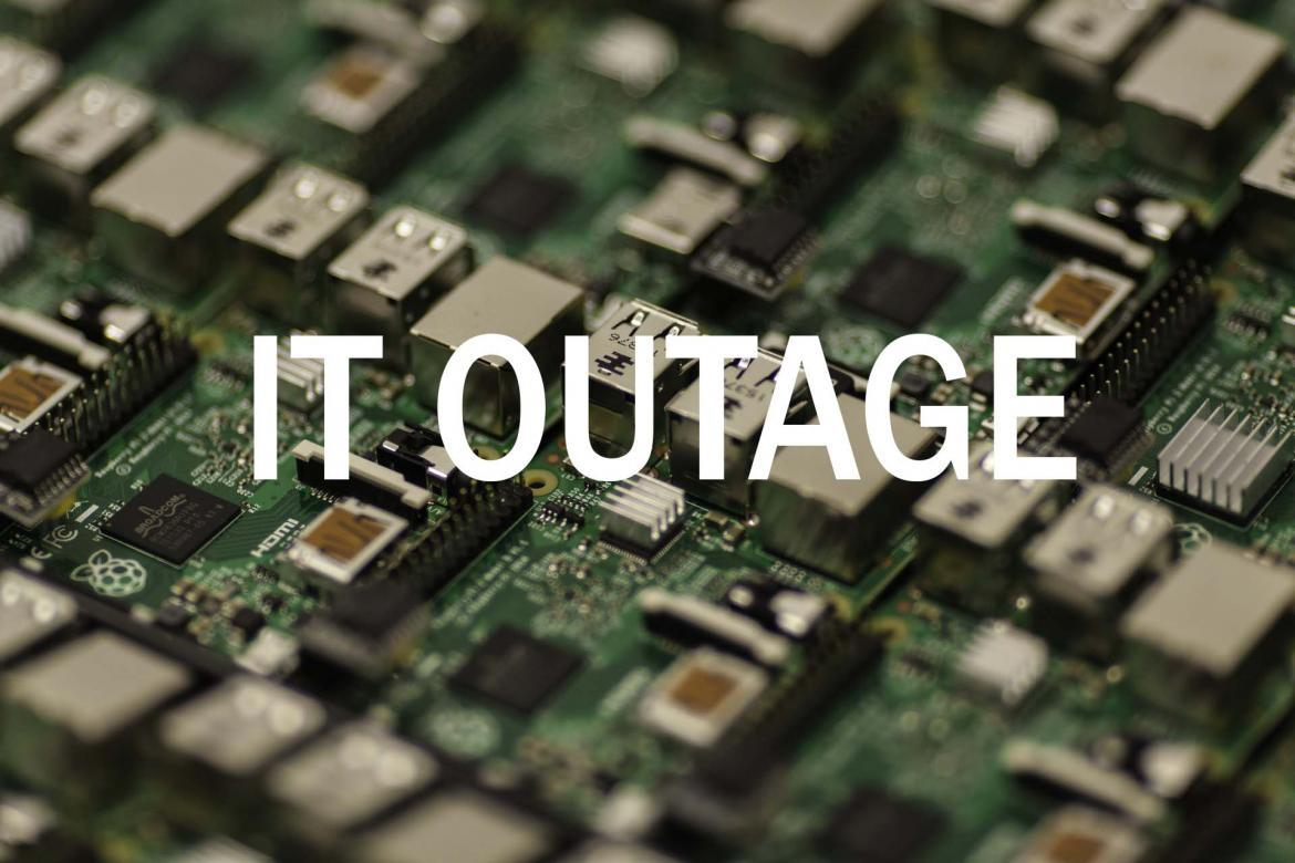 Complete Information Technology Infrastructure Outage