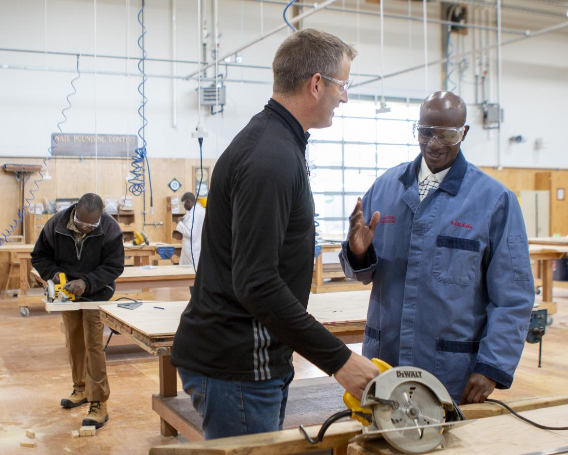 Kisii National Polytechnic in Kenya will be rolling out a new trades program in the fall in partnership with Vancouver Island University.