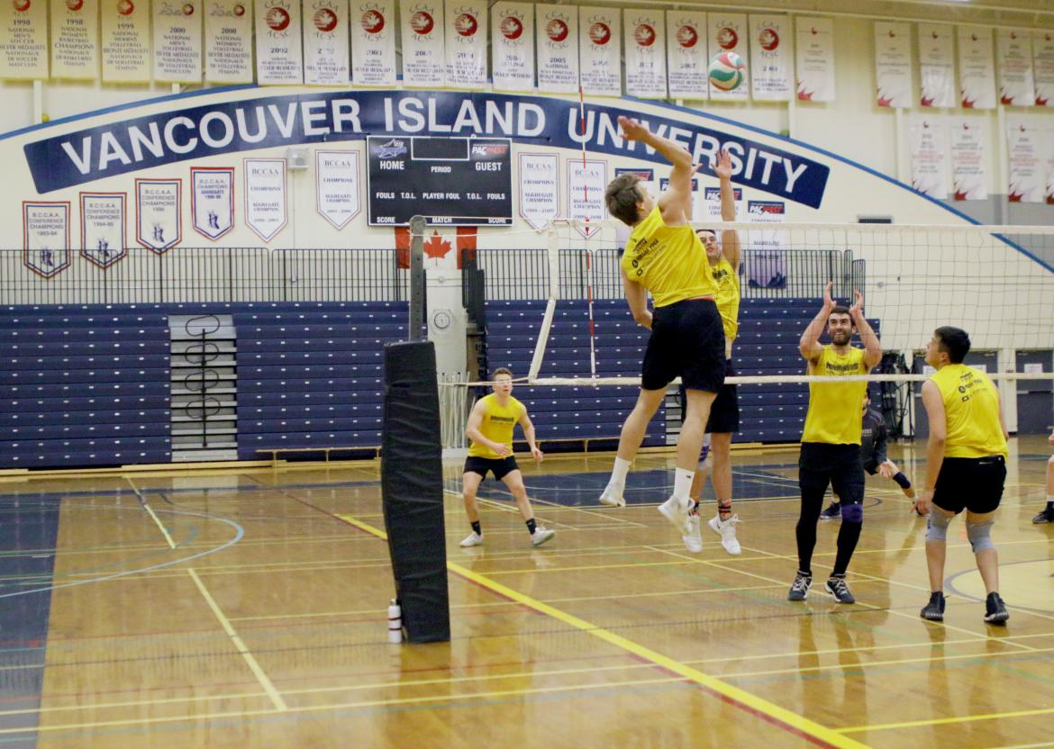 The VIU Mariner Men's Volleyball teams will compete for gold at the CCAA nationals