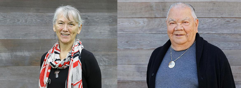 Maxine Matilpi and Barney Williams VIU Elders