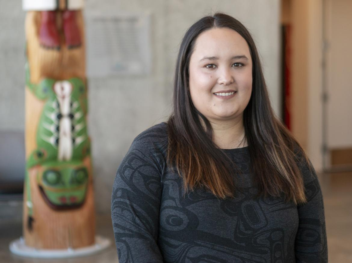 Vancouver Island University's Masters of Arts in Sustainable Leisure Management student Sara Fulla