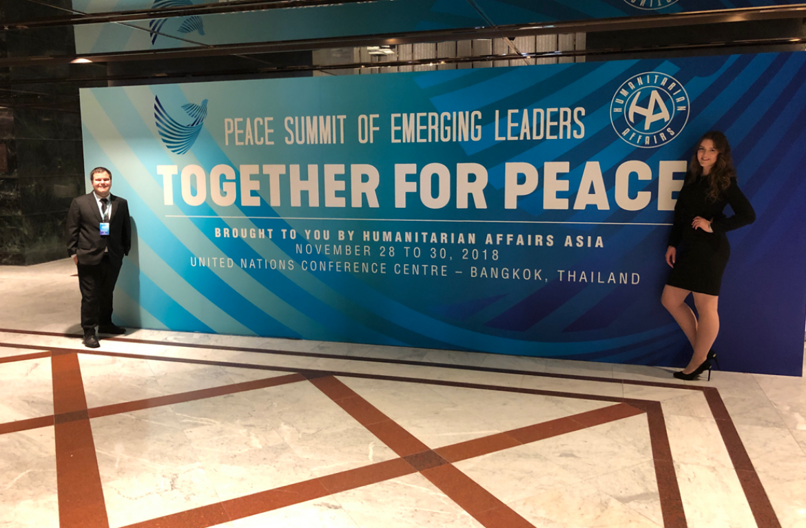 VIU students attend PeaceSummit for Emerging Leaders'