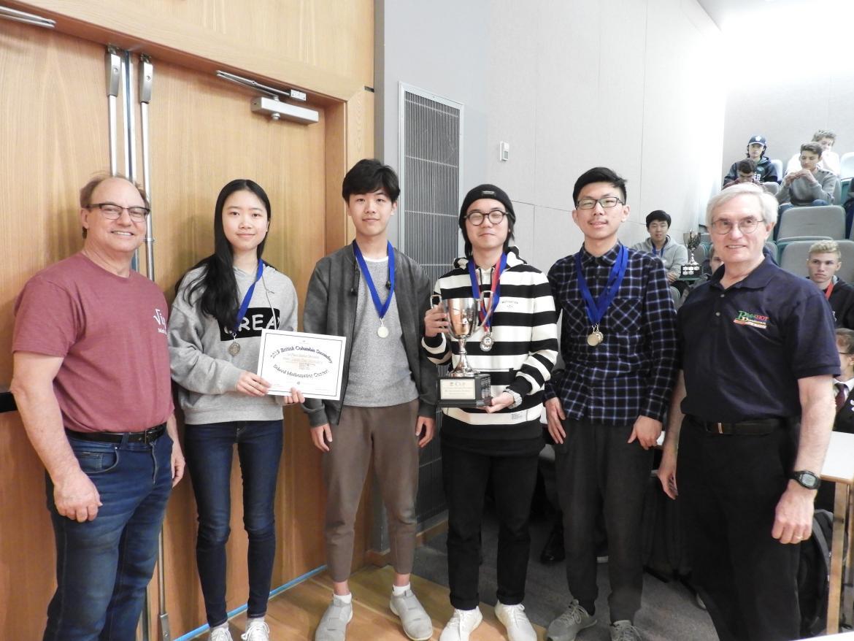 Nanaimo High School Wins Prestigious Pi Cup