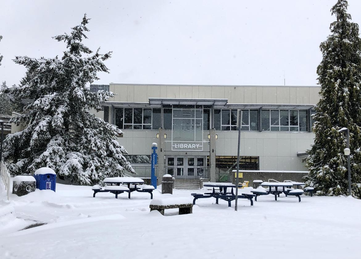 snow day at VIU
