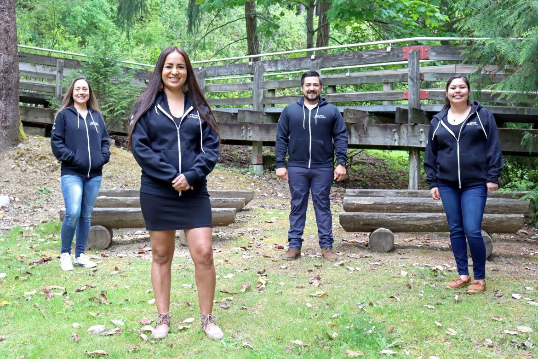 Portrait of mentors for VIU's Indigenous summer camp