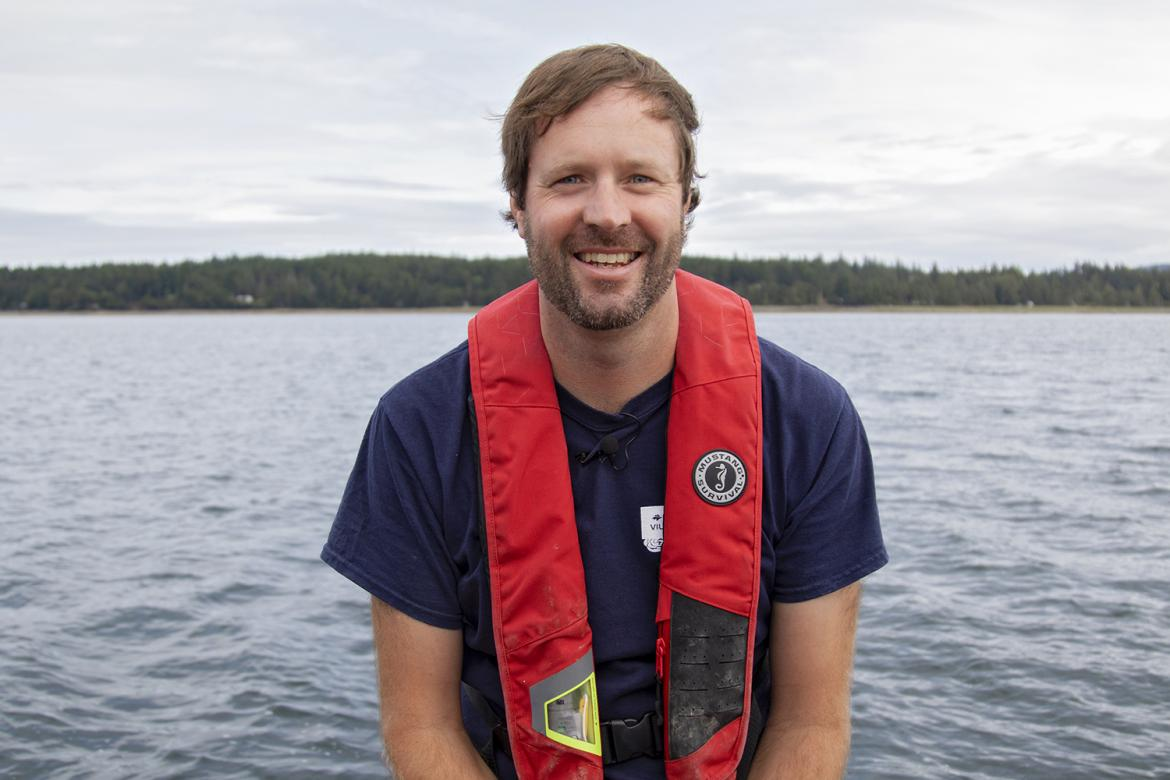 VIU's Dr. Tim Green, Canada Research Chair in Shellfish Health and Genomics, is pursuing research to detect norovirus contamination in marine environments.
