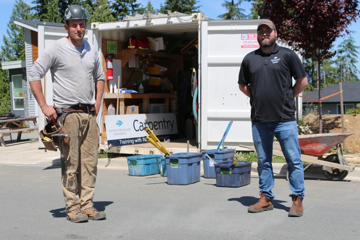 VIU Building Partnerships for Hands-on Learning Experiences