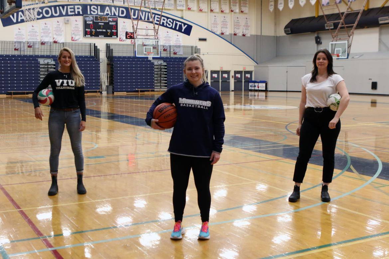 Three VIU Mariner Alumni Take on New Role as Apprentice Coaches