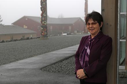 Portrait of Noelle Hanuse, VIU Counsellor