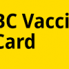 BC Vaccine Card